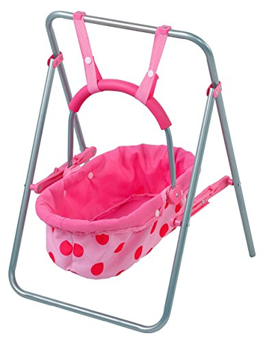 Doll Swing (Brynhildr 2-in-1 Playset Just Like Mom (Baby Carrier Seat & Swing))
