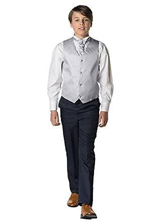 Paisley of London, Niño Wasitcoat Traje con Azul Marino Pantalones ...