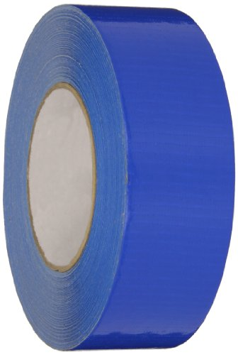 Nashua Polyethylene Coated Cloth General Purpose Duct Tape, 9 mil Thick, 55 m Length, 48 mm Width, Blue
