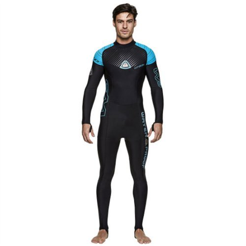 Waterproof Mens Superstretch Lycra Skin Suit, M-ML