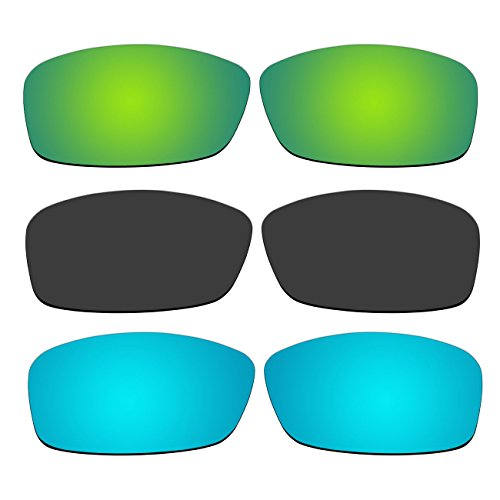 00befd018c 3 Pair Replacement Polarized Lenses for Oakley Hijinx Sunglasses Pack P7 - Buy  Online in Oman.