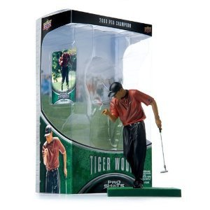 Tiger Woods - six inch Collectable Action Figure - PGA Champion (Red Shirt) by Pro (Tiger Woods Shirt)
