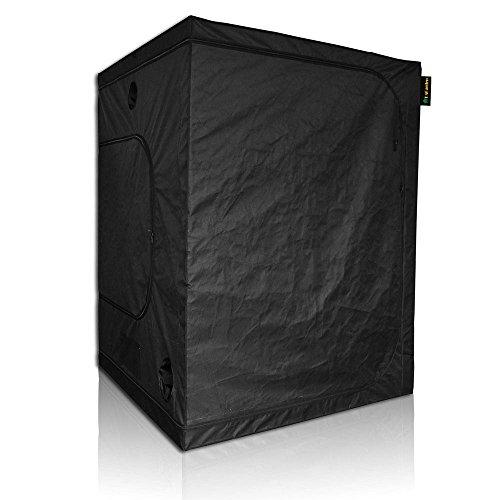 "41MlXOSZFTL - LAGarden 60x60x78"" 100% Reflective Diamond Mylar Hydroponics Indoor Grow Tent Non Toxic 600D Planting Room"