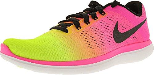 Nike Men's Flex 2016 Rn Oc Multi-Color/Multi-Color Ankle-High Mesh Cross Trainer Shoe - 10.5M (Shoes Walking Men Nikes)