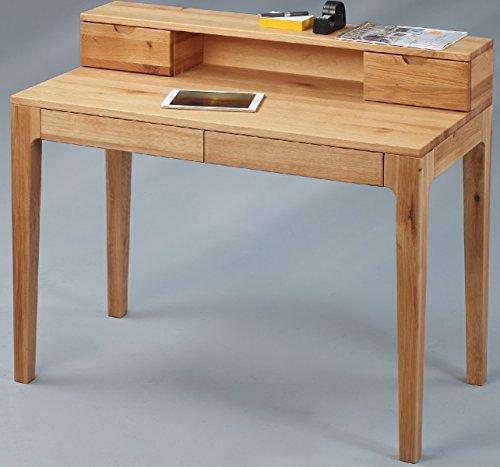 Sekretär Wildeiche Design Schreibtisch Wildeiche Schubladen Mit