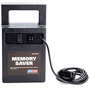 E-Z Red MS4000 Automotive Memory Saver With Built In Charger