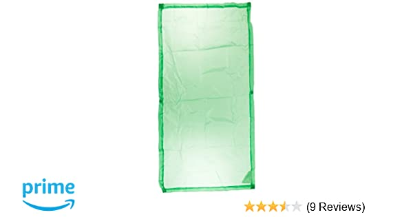 Amazon com abilitations cozy shades softening light filters 54 x 24 inches pack of 4 green industrial scientific