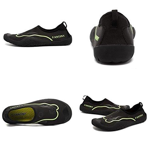 CIOR Wasser Schuhe Für Frauen Männer Outdoor Sport Slip On Multifunktionale Turnschuhe 12 Löcher Drainage System Quick Dry A2.grün