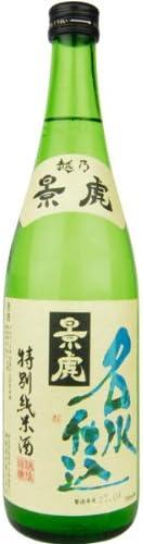 越乃景虎 名水仕込 特別純米酒 720ml(化粧箱無し)