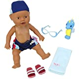": Baby Born Mommy, Look I Can Swim! 13"" Doll, Boy AA"