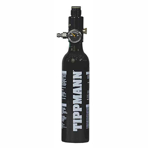 Paintball Compressed Air Pump Tippmann Sports 13/3000 Compressed Air Nitrogen Tank 13 3K Black by Tippmann Paintball