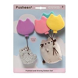 Pusheen Stormy Plush | Set Of 2 | With Balloon Plush 10