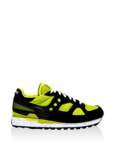 Saucony Originals Zapatillas Shadow O Fluo - Smu Negro / Lima EU 44.5 (US 10.5)