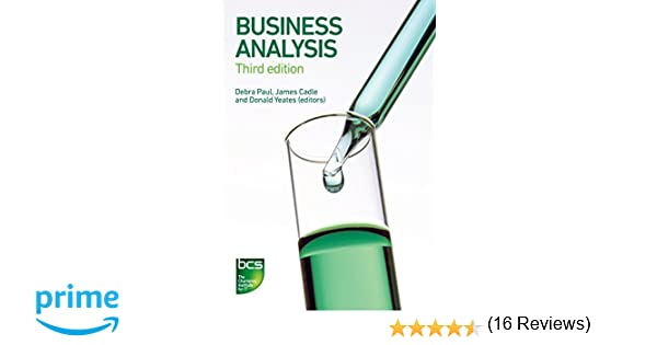 Business Analysis Malcolm Eva Keith Hindle Craig Rollason