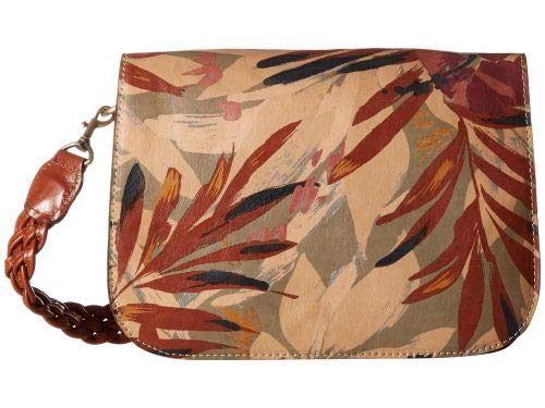 Patricia Nash(パトリシアナッシュ) レディース 女性用 バッグ 鞄 バックパック リュック Mondovi Crossbody Flap - Palm Leaves [並行輸入品] B07JM1L6PQ