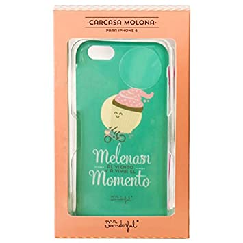 Carcasa Funda iPhone 6 / 6s Licencia Mr Wonderful Melenas ...