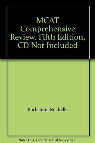 MCAT Comprehensive Review, Fifth Edition, CD Not Included
