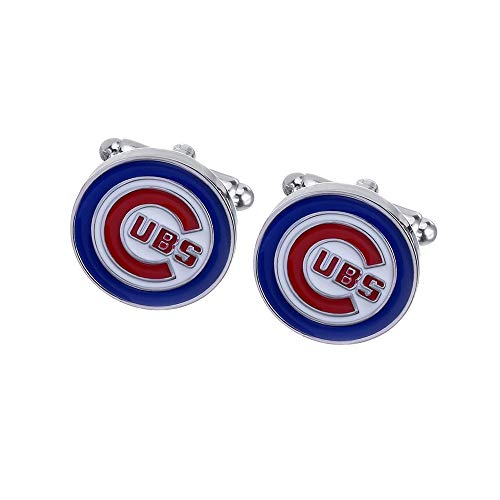 Promotioneer Mens Baseball The Team Logo Symbol Series Cufflinks with Gift -