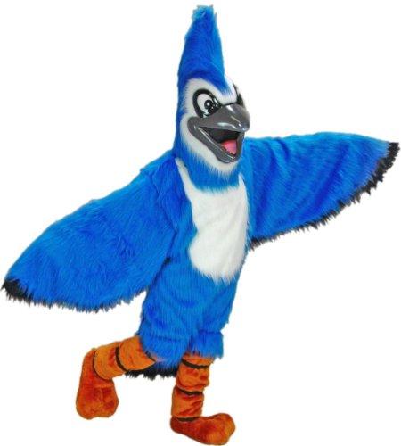 Blue Jay Mascot Costume -