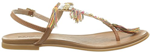 Inuovo 6392, Women's Sandals Marron (Coconut)