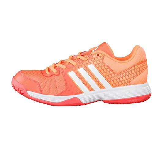 adidas Ligra 4 W - Zapatillas de voleybol para Mujer, Naranja - (CORSEN/FTWBLA/NARBRI) 46 2/3