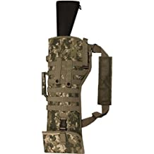 Ultimate Arms Gear Tactical ACU Army Digital Camo Camouflage Ambidextrous Molle Ruger 10/22 10-22 Mini 14 Mini-14 Ranch Rifle Mini 30 Rifle Scabbard Soft Protective Carry Case