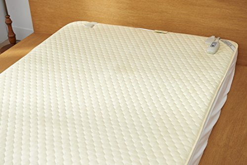 Shield Life TheraMat Far Infrared Heated Mattress Pad - fits Queen Size Beds - with Negative Ions and Electrical Radiation Shielding Technology (79