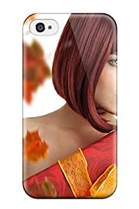 For ZippyDoritEduard Iphone Protective Case, High Quality For Iphone 4/4s Woman With Giftbox Skin Case Cover Kimberly Kurzendoerfer