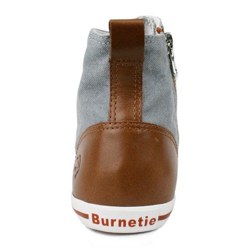 Burnetie Baskets Montantes En Coton Vintage Pour Femme