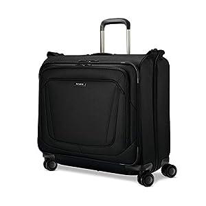 Samsonite Silhouette 16 Duet Spinner Garment Bag, Obsidian Black, Checked – Large – 120406-0413