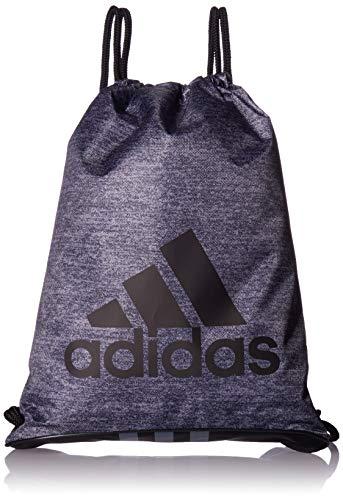 adidas Burst II Sackpack, Onix Jersey/Black/Onix, One -