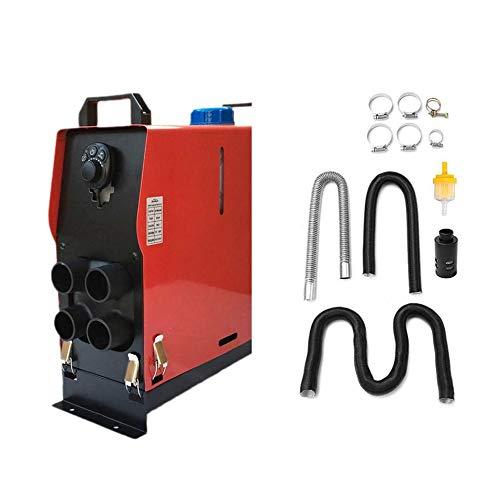 Acquisto HermosaUKnight 12v 5000w Air Diesel Riscaldatore 4 Fori Monitor Planar per Camion Commutatori rotanti-Rosso Prezzi offerte