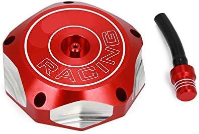 YJDTYM Gas Benzina Serbatoio della Copertura della Protezione CNC T6-6061 Alluminio del Diametro 65 Millimetri//Fit for Honda XR CRF TRX