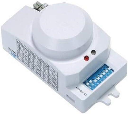 Desconocido AC220-240V Interruptor de luz con Sensor de Radar de microondas