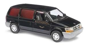 Busch 44622 Chrysler Voyager - Coche fúnebre miniatura (escala 1:87) [importado de Alemania]