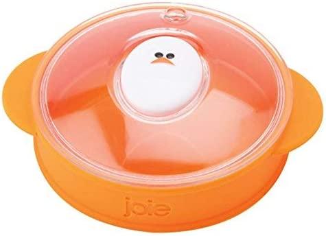 Joie Molde para Huevos microondas, Naranja, 13,97 x 13,33 x 17,78 cm