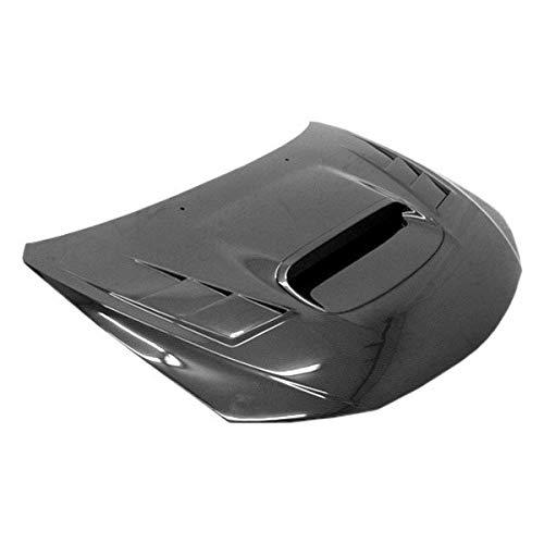 (VIS Racing (VIS-FHY-797) Terminator Style Hood Carbon Fiber - Compatible for Subaru WRX 2008-2014 (2008 2009 2010 2011 2012 2013 2014 | 08 09 10 11 12 13 14))