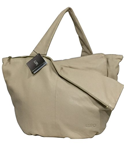LUPO Bag Ladies Metrópolis Genuine Premium Leather Tote (Barcelona Leather Handbag)