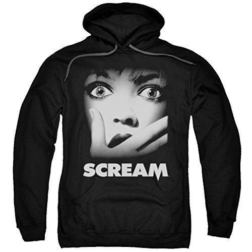 Scream Movie Poster Hoodie, Black, Medium]()