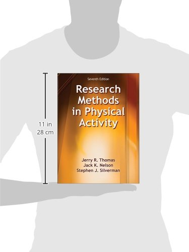 buy research methods in physical activity book online at low prices