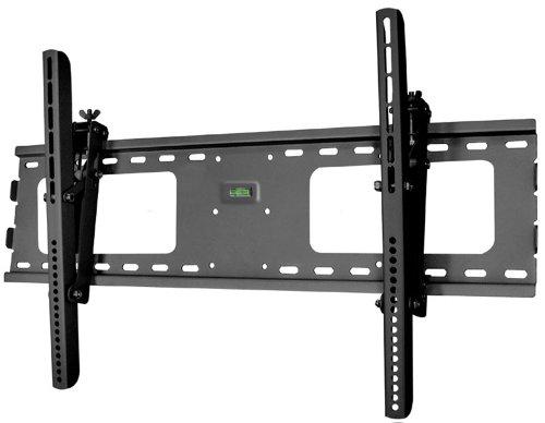 black adjustable tilt tilting wall mount bracket for samsung un60ju7100fxza 60 inch 4k uhd hdtv. Black Bedroom Furniture Sets. Home Design Ideas