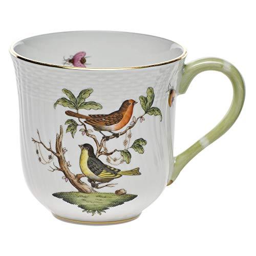 Herend Rothschild Bird Porcelain Coffee Mug Motif 3