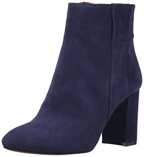Nine West Women's Whynot Suede Boot Navy ShMXW1VbR
