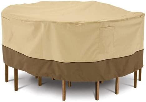 Home Decorators Collection Veranda Patio Table Chair Cover, 24 HX96 L, PBBL Earth BARK