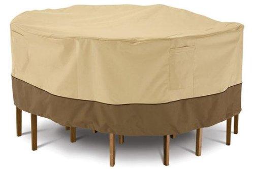 Home Decorators Collection Veranda Patio Table Chair Cover, 24 HX96 L, PBBL Earth BARK
