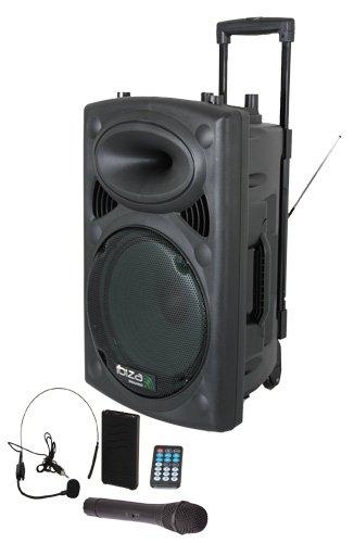 Ibiza Sound PORTVHF BT Megafonia portatil W USB Bluetooth color negro