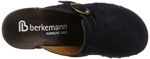 Berkemann Edda, Zuecos para Mujer azul (Marine)