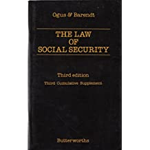 Ogus and Barendt: the Law of Social Security: 3rd Supplement