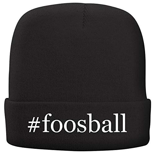 Voit Tabletop - BH Cool Designs #Foosball - Adult Hashtag Comfortable Fleece Lined Beanie, Black