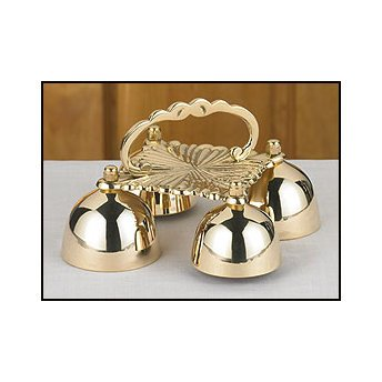 - 4 Cup Sacristy Bell with Handle